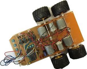 ライントレースカーの製作